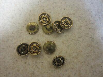 gentlemen/'s shirt studs 19th century. Studs 3 different antique All have botanical designs 2 are gilt