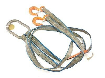 Lift-all 6 Two Leg Bridle Web Sling Tuff-edge Polyester 1-wide