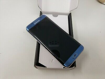 Samsung Galaxy S7 edge G935A 32GB ATT GSM Unlocked. Blue Has LCD SPOT. Excellent