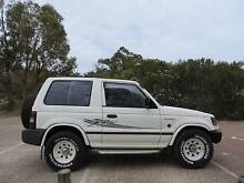 1997 Mitsubishi Pajero Coupe with roof rack and CB radio West Leederville Cambridge Area Preview