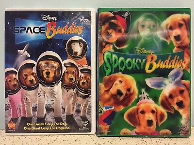 Walt Disney DVD Lot - SPOOKY BUDDIES + SPACE BUDDIES Halloween TRICK-OR-TREAT!!!](Walt Disney Halloween Movies)