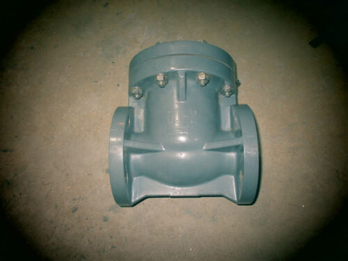 "Asahi 2"" flanged PVC check valve SC type"