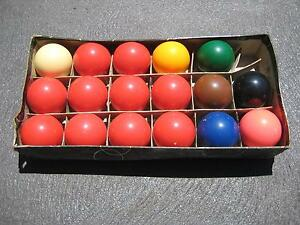 Snooker Balls Shell Cove Shellharbour Area Preview