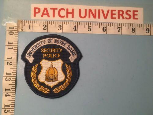 UNIVERSITY OF NOTRE DAME SECURITY POLICE  SHOULDER PATCH   C045