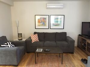 Downtown/2bedrm flat/furnished/parking/all inclusive rent
