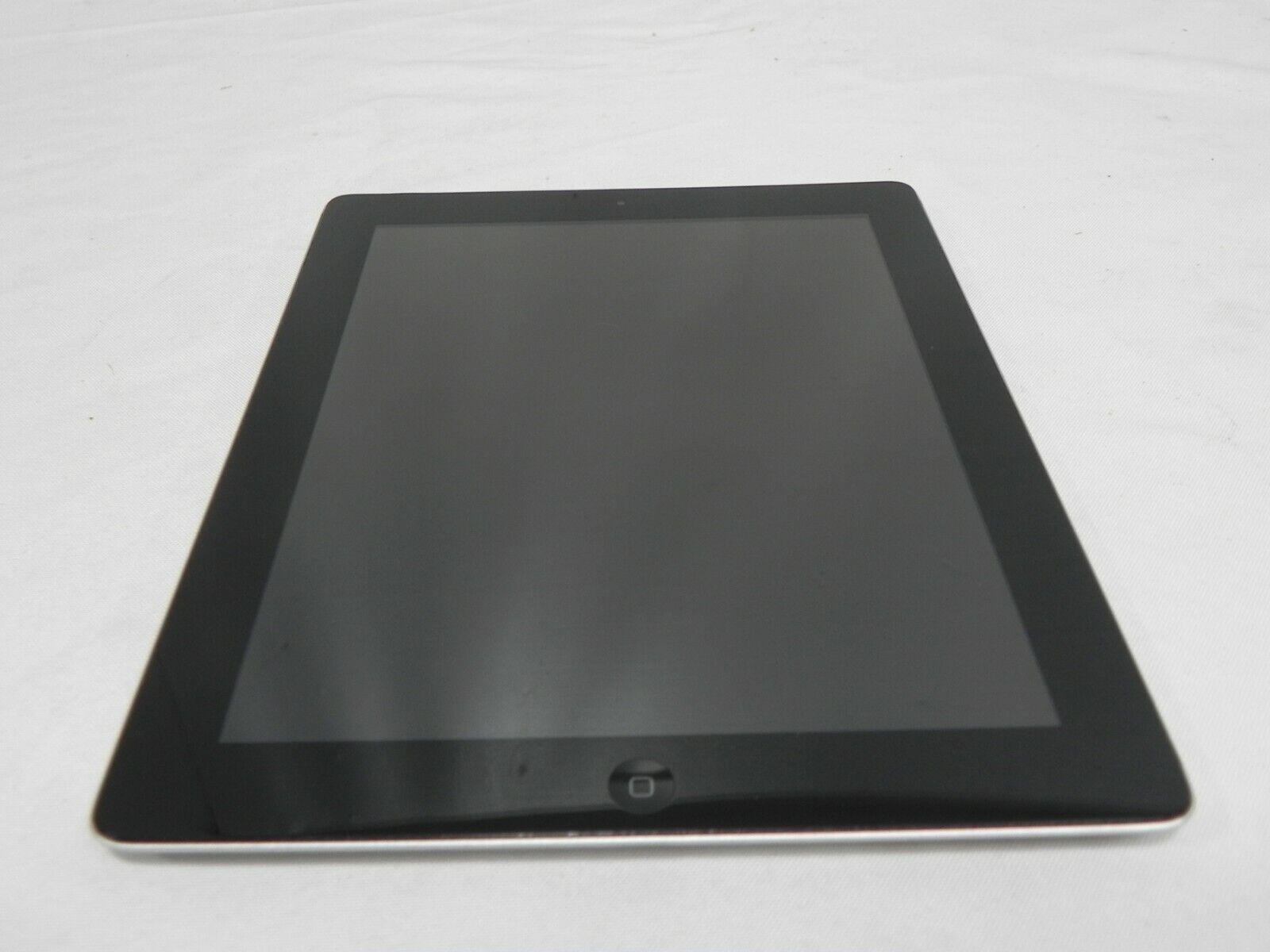 Apple iPad 4th Gen. 64GB, Wi-Fi + Cellular (MD524LL/A), A1460, 9.7in - Black