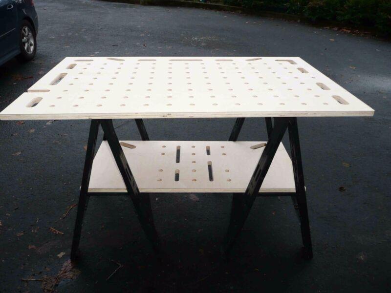 Festool MFT table top / slab plans