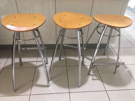 Kitchen bench stools x 3