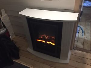 Dimples Electric Fireplace
