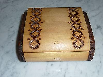 DDR Zigaretten Box - Schachtel - Kiste - Holz