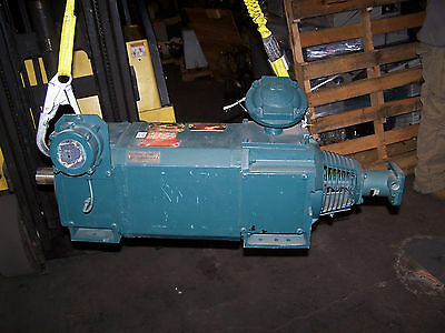 New Reliance 13.3 Hp Dc Motor W Encoder 500 Rpm 3 Phase 180 L2177 Frame
