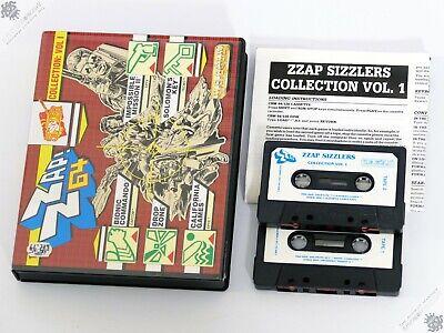 COMMODORE 64 C64 C128 ZAP! Z64 VOL. I BIG BOX VINTAGE COMPUTER GAME U.S. GOLD