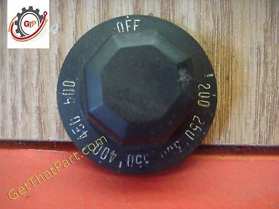 Wolf Air Flow Afs-100e-c Circulating Oven Thermostat Setting Dial Knob