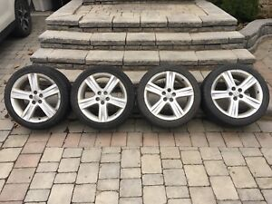Toyota Corolla Tires with Rims ***Must sell***