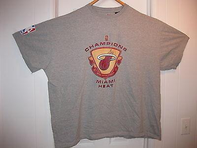 LeBron James Miami Heat NBA Champions T-shirt by the NBA STORE Adult size 4XT