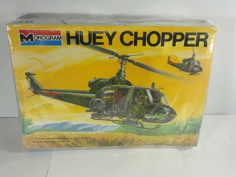 Monogram Huey Chopper 1/24 Scale Plastic Model Kit **BRAND NEW**RARE
