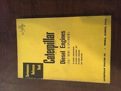 Cat Caterpillar Diesel Engine Servicemens Reference Book Manual 6 Cyl 5 34