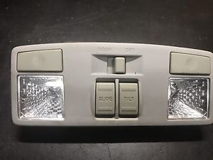 04-09 Mazda 3 map light