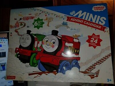 NEW Thomas And Friends Minis Advent Calendar 24 Trains 6 Christmas Exclusives!