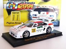Fly Slot Car (Scalextric) Venturi 600 LM # 11- Paginas Amarillas Lane Cove West Lane Cove Area Preview