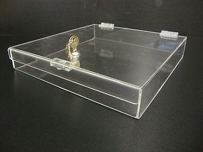 305displays Acrylic Countertop Display 12 X 12 X 2 Locking Security Showcase