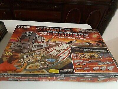Tyco tren electrico Transformers battle set 7430, año 1985