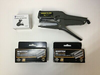 Bostitch B8 Heavy Duty 02245 Plier Stapler With 2 Boxes 14 10000 Staples
