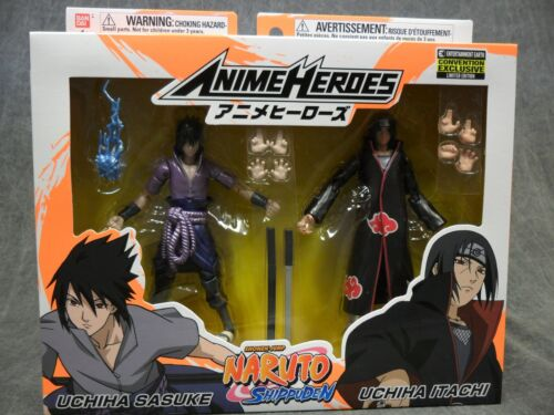 Bandai Naruto SDCC 2020 * Itachi and Sasuki Uchida * 2-Pack Action Figure