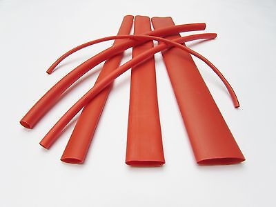 6ft Red Heat Shrink Tube Assortment 31 Dual Wall Adhesive Glue Line Marineto
