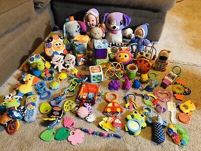 Lot 67+ Baby Toddler Developmental Sensory Learning Toys Rattles