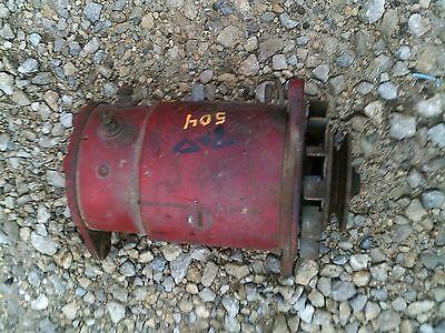 Farmall Ih 504 Gas Tractor Original 12v Generator Belt Drive Pulley