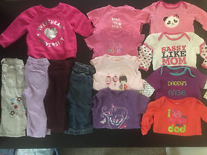Girls clothes size 6-12 month
