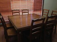 Dinning Table - 8 seater Hamilton Recycled oregon timber Green Valley Liverpool Area Preview