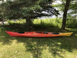 2 kayaks de mer avec équipements