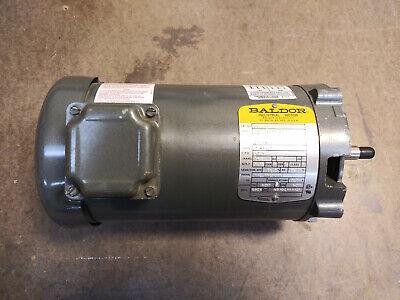 Baldor Jm3116 1 Hp 1725 Rpm 3 Phase 230460 Volt Electric Motor