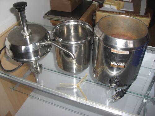 Server 82060 Fudge Server with Pump