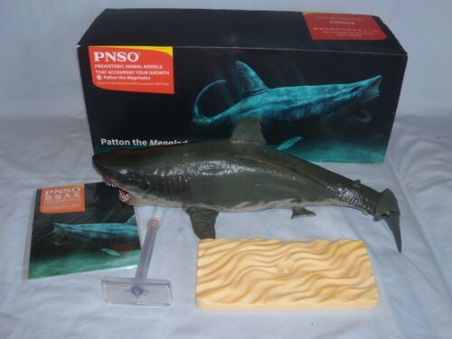 PNSO Patton the Megalodon Vinyl Model Painted Shark Display (MIB)