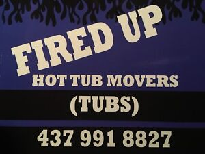 HOT TUB MOVER MOVING