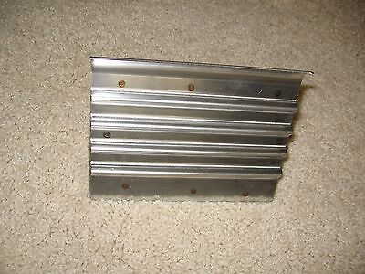 Stainless Steel Safety Step Edgergroover -- 6 X 4 12 -- Concrete Tool