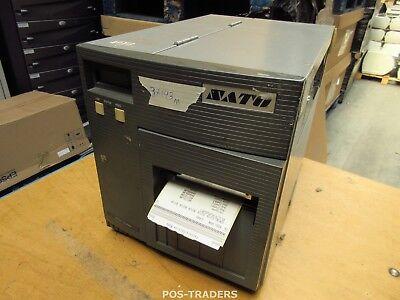 """SATO CL408E Parallel Thermo Label Drucker REWINDER 203dpi 4.1"""" 104mm - 37193 M"""