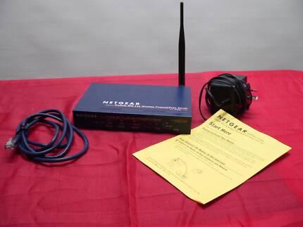 Wireless VPN firewall/ Print server router