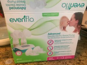 Evenflow double breast pump