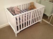 Boori Urbane Baby Cot, White, Very Good cond! Mount Gravatt East Brisbane South East Preview