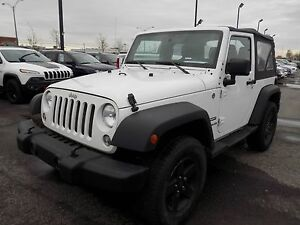 Jeep Wrangler SPORT 2014 PLAN OR 5ANS/100