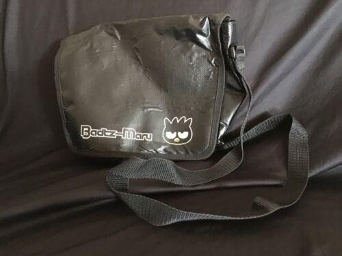 Sanrio Badtz Maru messenger/camera/travel bag unisex black