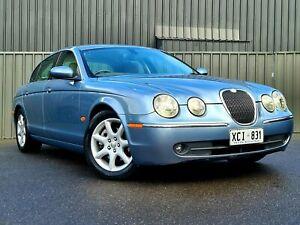2005 Jaguar S-Type X204 Luxury Silver 6 Speed Automatic Sedan