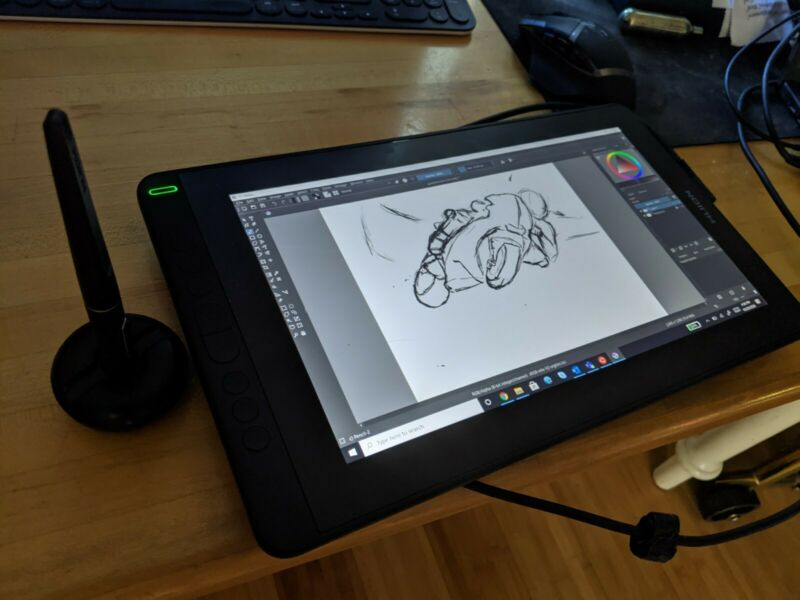 Huion Kamvas Pro 13 13.3 inch Graphics Drawing Monitor Full-Laminated Screen