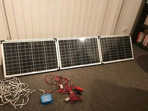 Quality Camping Folding Solar Panels and Controller
