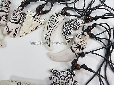 US Seller - 20 pieces men women pendant necklaces wholesale jewelry lot