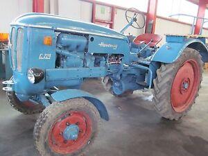 Reinstahl  Hanomag Typ : C. 224 Traktor Schlepper  für Bastler  motor läuft